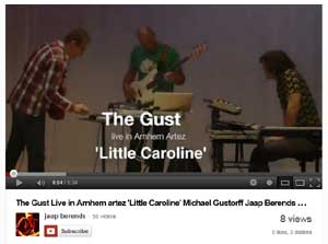 Little Caroline - live at the 'ArtEZ Concert Hall' october 2012