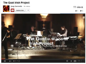 The Irish Project, featuring Andre Enthöfer, sax